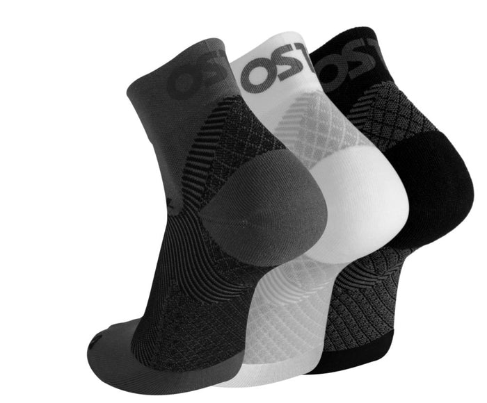OS1st FS4 Plantar Fasciitis Compression Socks - White