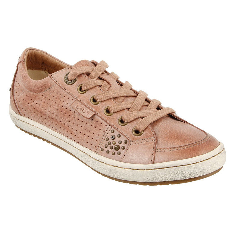 Women's Taos Freedom Leather Sneaker in Blush