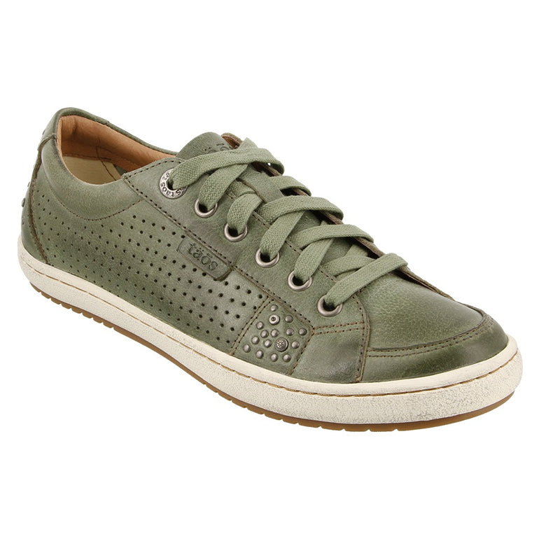 Women's Taos Freedom Leather Sneaker - Sage