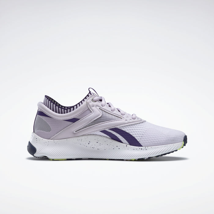 Reebok Women's HIIT Training Shoes - Luminous Lilac/Dark Orchid/White