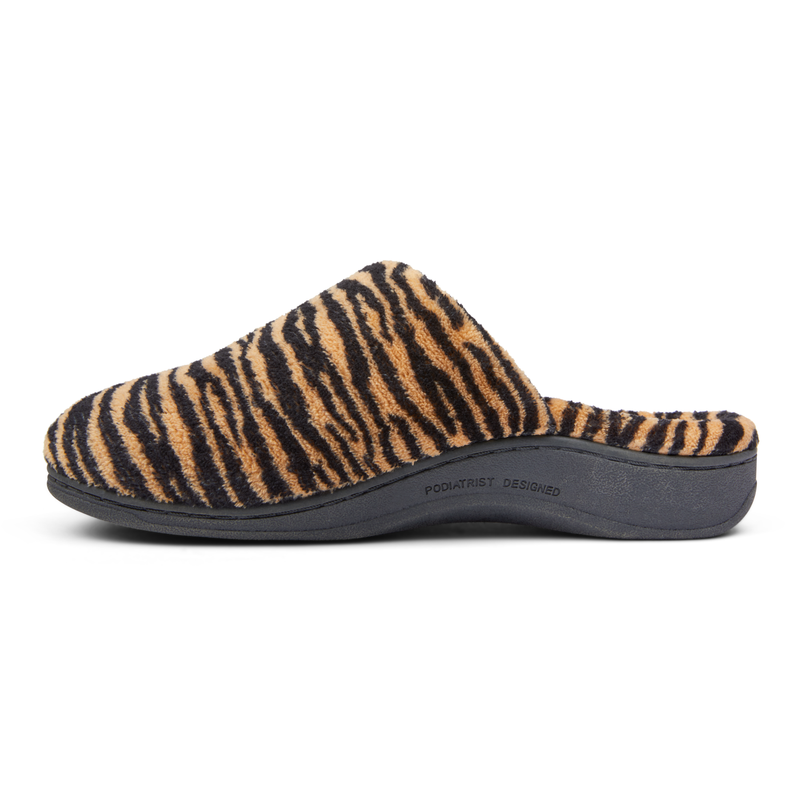 Vionic Women's Gemma Mule Slippers - Natural Tiger