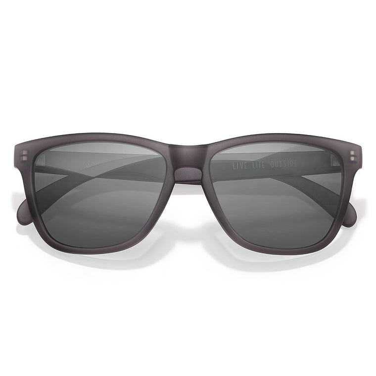 Sunski Headland Sunglasses - Grey Black