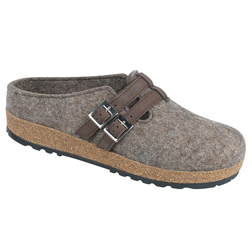 Women's Haflinger Haley Clog - Earth