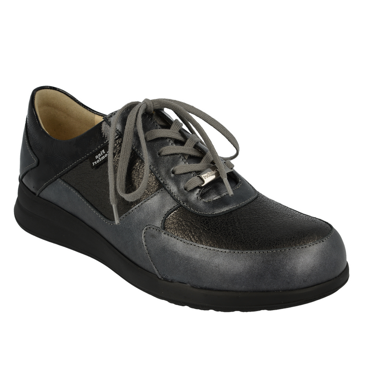 Women's Finn Comfort Corato Mellow Supersoft Oxfords - Black Merc