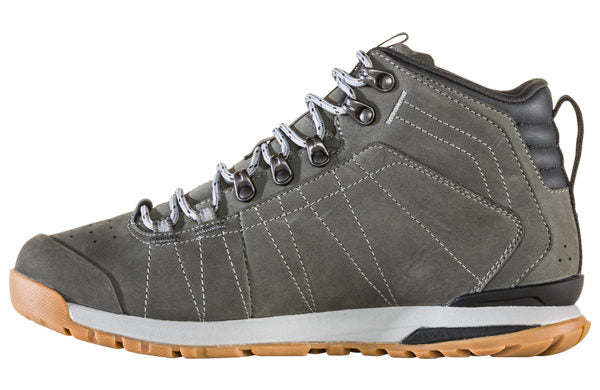 Oboz Men's Bozeman Mid Leather - Charcoal