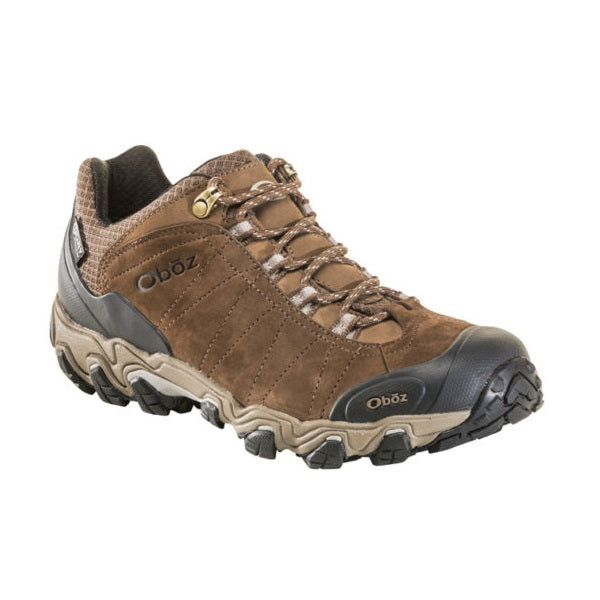 Oboz Men's Bridger Low Waterproof Hiking Shoes - Canteen Brown