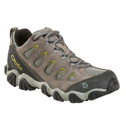 Men's Oboz Sawtooth II Low Hiking Boots - Pewter
