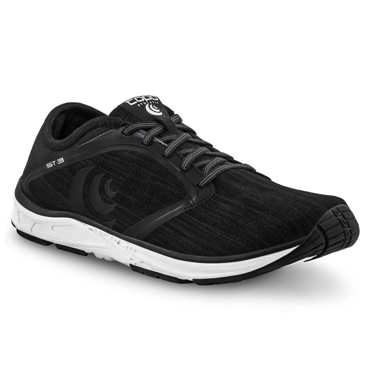 Men's Topo Athletic ST-3 Road Running Shoes - Black/Grey