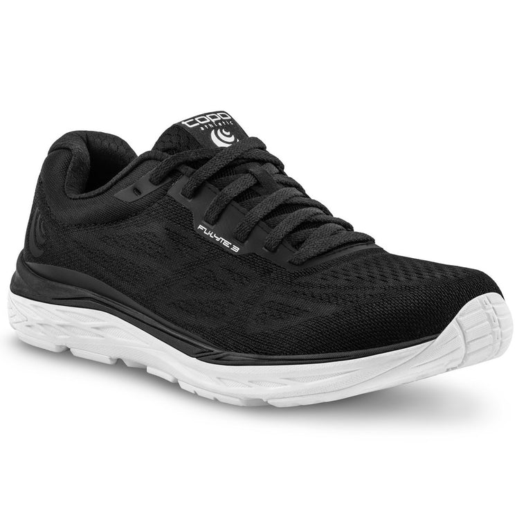 Men's Topo Athletic Fli-Lyte 3 Road Running Shoes - Black/White