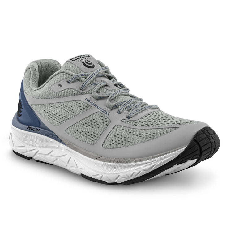 Men's Topo Athletic Phantom Road Running Shoes - Grey/Blue