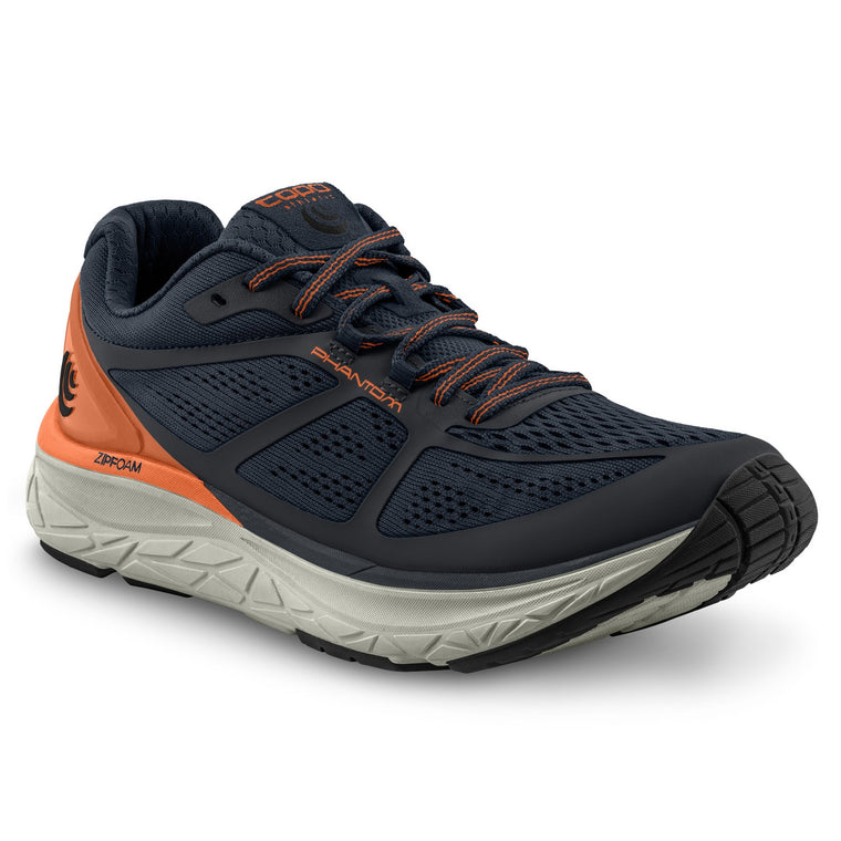 Men's Topo Athletic Phantom Road Running Shoes - Navy/Orange