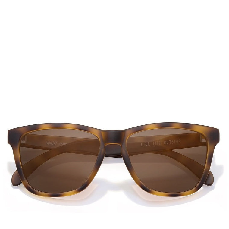 Sunski Madrona Sunglasses - Tortoise Brown