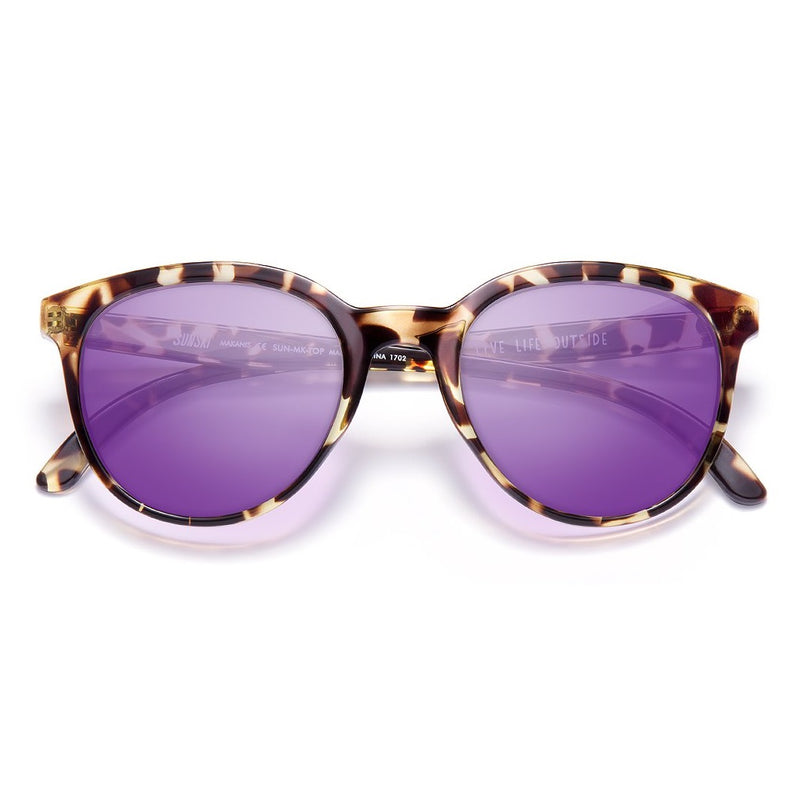 Sunski Makani Sunglasses - Tortoise Purple