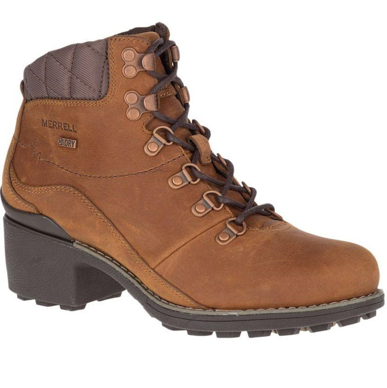 Women's Merrell Chateau Mid Lace Waterproof Boots