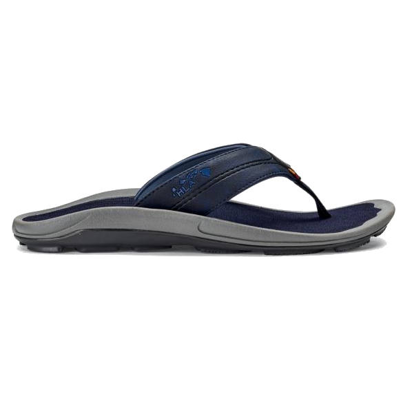 Men's OluKai Kipi Beach Sandals - Trench Blue/Trench Blue