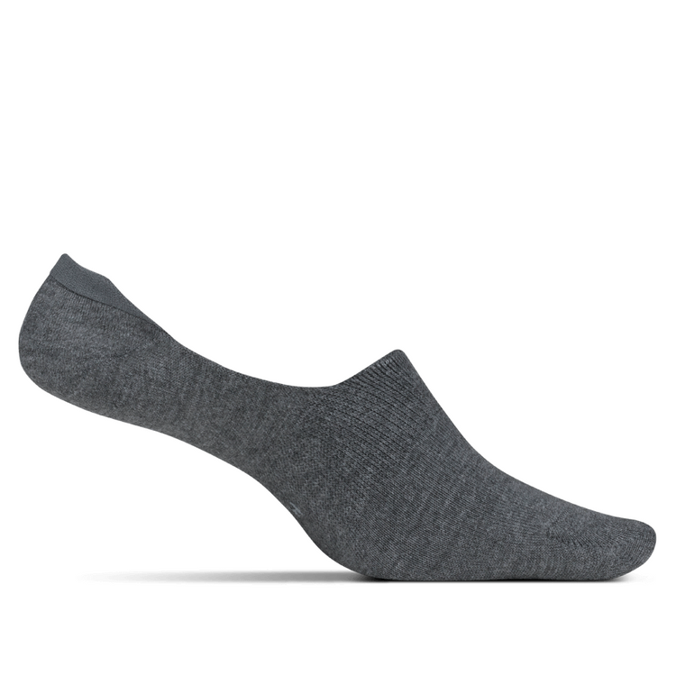 Feetures Men's Hidden Socks - Grey
