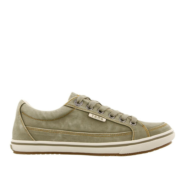 Taos Women's Moc Star Sneaker - Sage Distressed