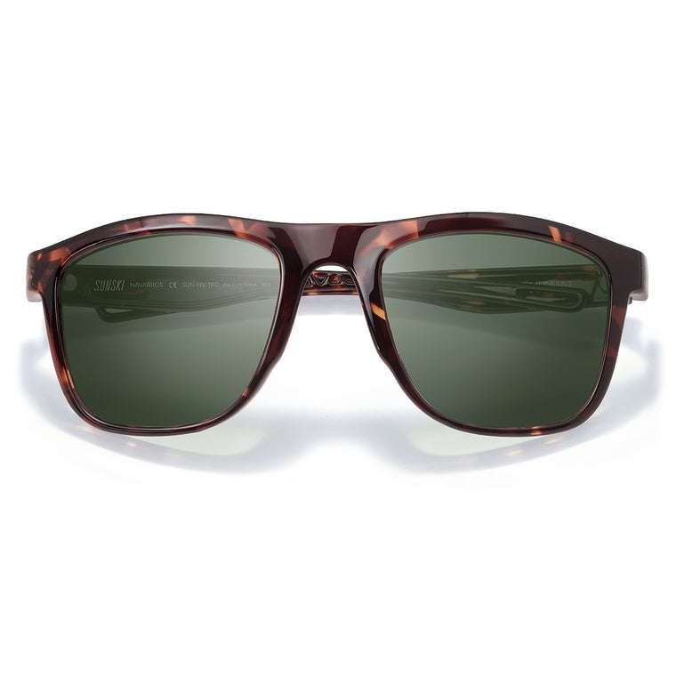 Sunski Navarro Sunglasses - Tortoise Forest