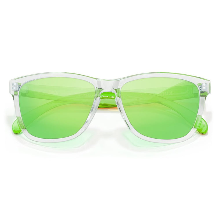 Sunski Original Sunglasses - Clear Lime
