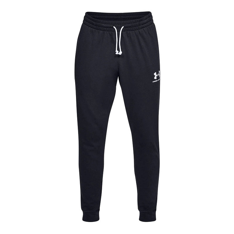 Under Armour Men's UA Sportstyle Terry Joggers - Black