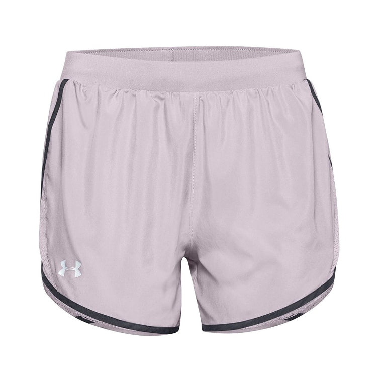 Under Armour Women's UA Fly-By 2.0 Shorts - Slate Purple/Slate Purple