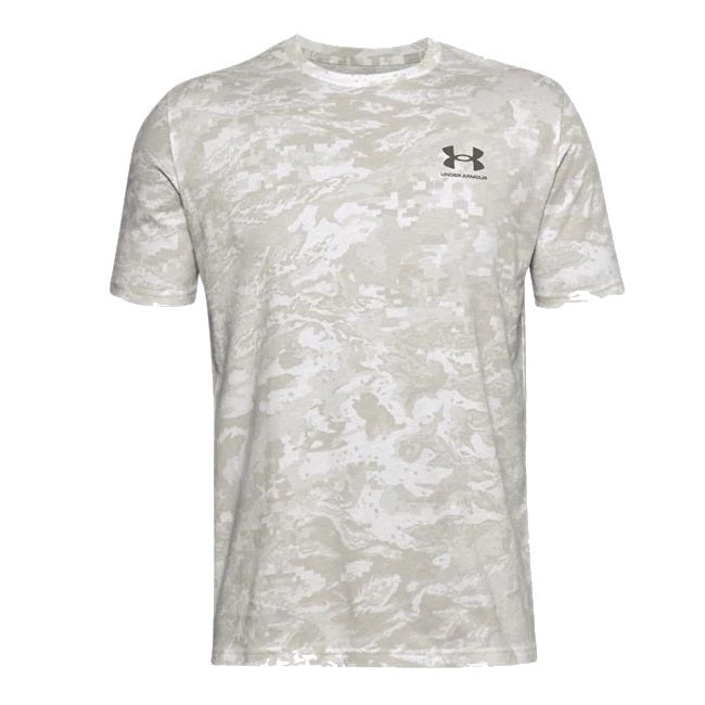 Under Armour Men's UA All-Over Logo Short Sleeve - Onyx White
