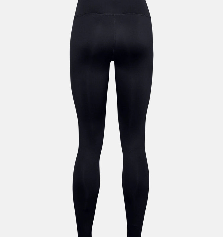 Under Armour Women's ColdGear Armour Leggings - Black/Metallic Silver