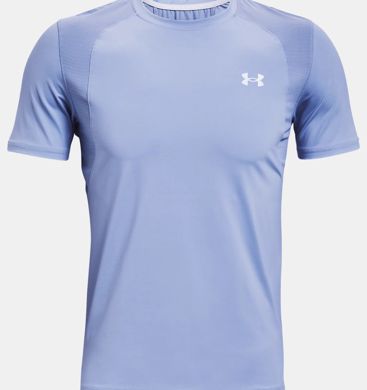 Under Armour Men's UA Iso-Chill Run Short Sleeve - Washed Blue/Academy
