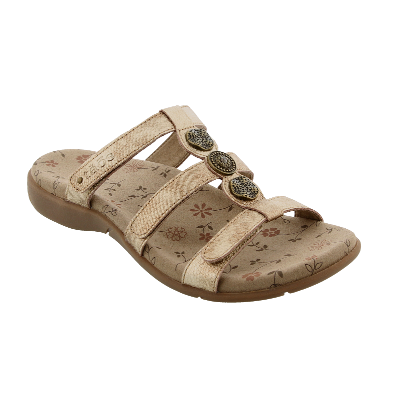Women's Taos Prize 3 Sandal in Gold