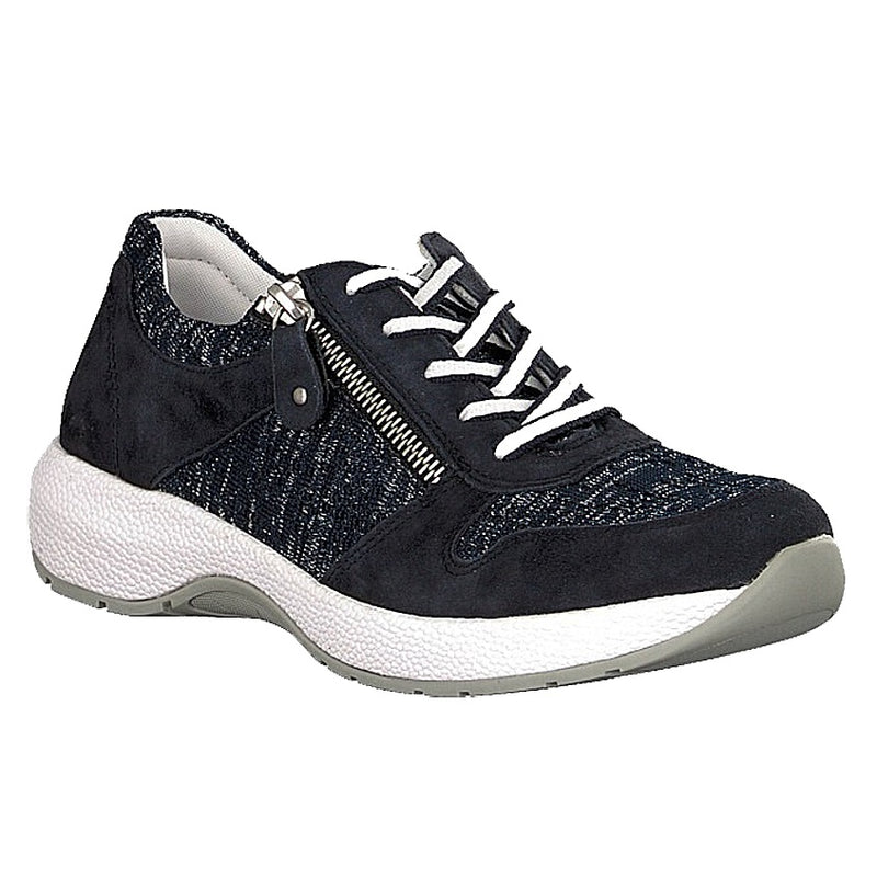 Rieker Women's R8911-14 Walking Shoe - Navy