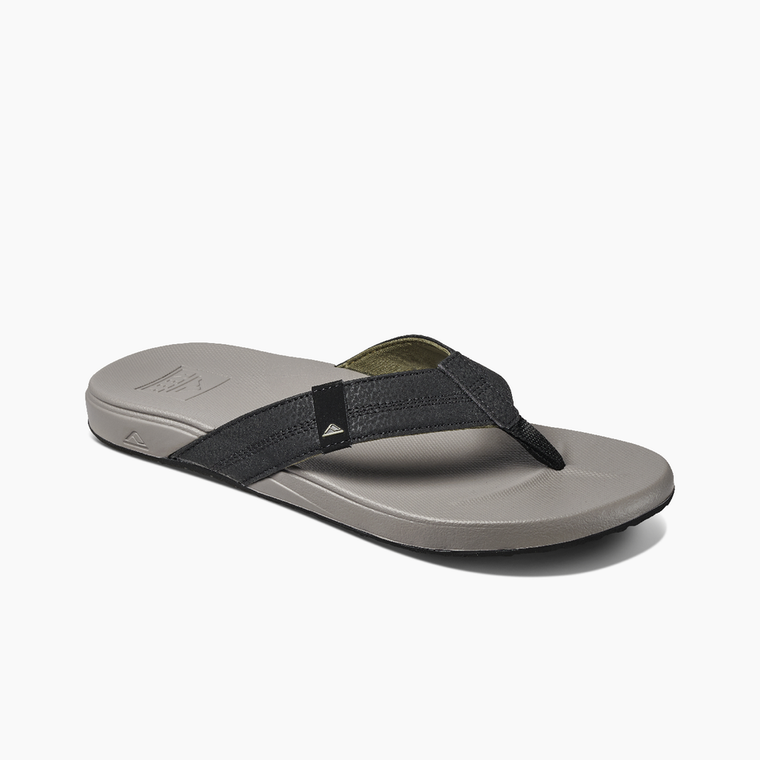 Reef Men's Cushion Phantom Flip Flops - Light Grey