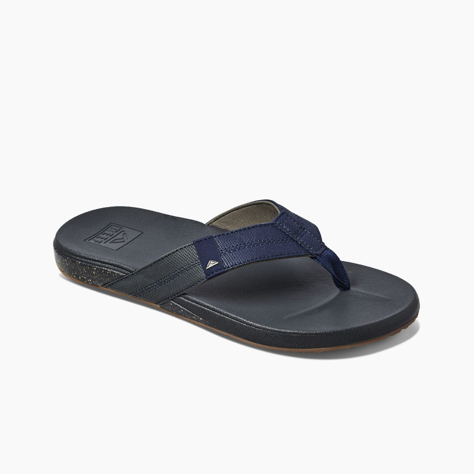 Reef Men's Cushion Phantom Sandal - Tan/Navy