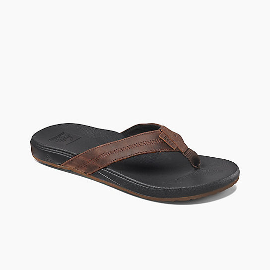 Men's Reef Cushion Bounce Phantom LE Flip Flops - Black/Brown