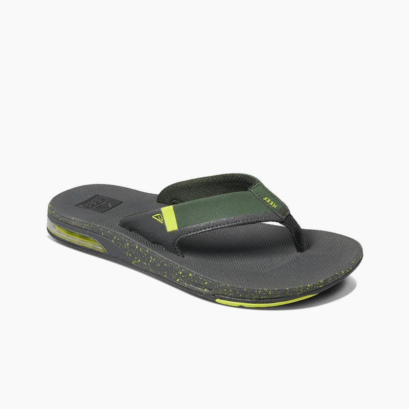 Reef Men's Fanning Low Flip Flops - Duffle Lime