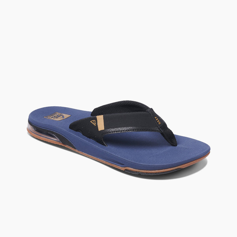 Reef Men's Fanning Low Flip Flops - Navy