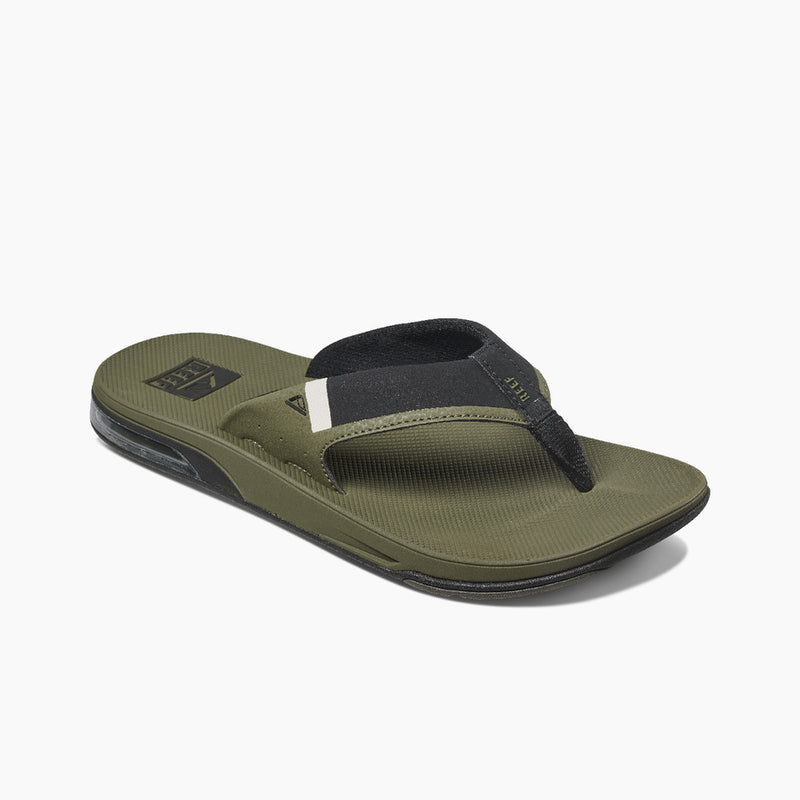 Reef Men's Fanning Low Flip Flops - Olive
