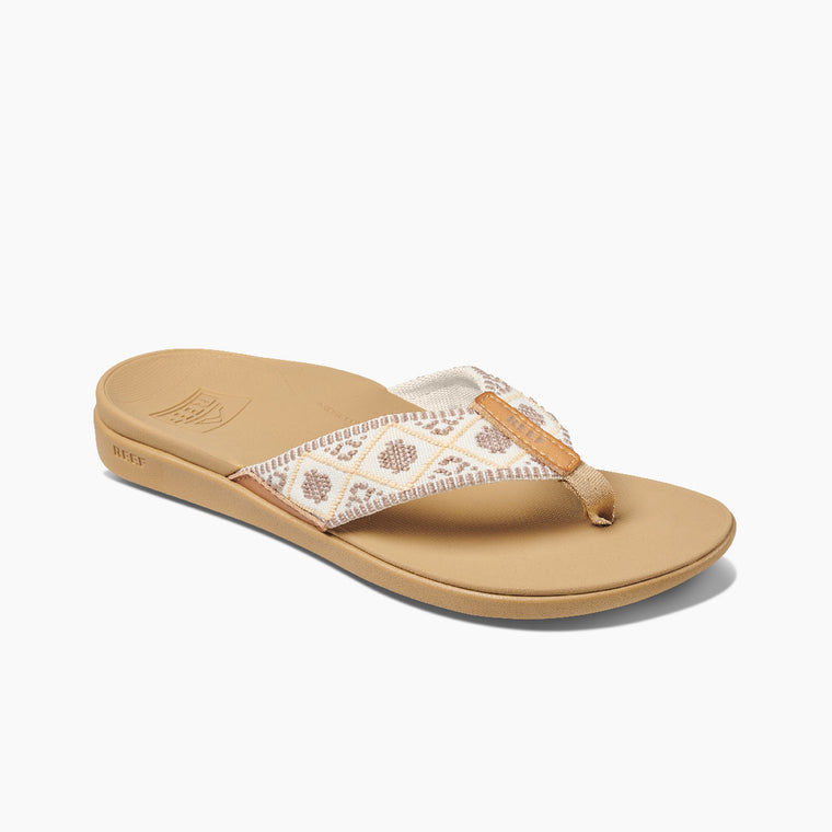 Reef Women's Ortho Woven Sandals - Vintage White