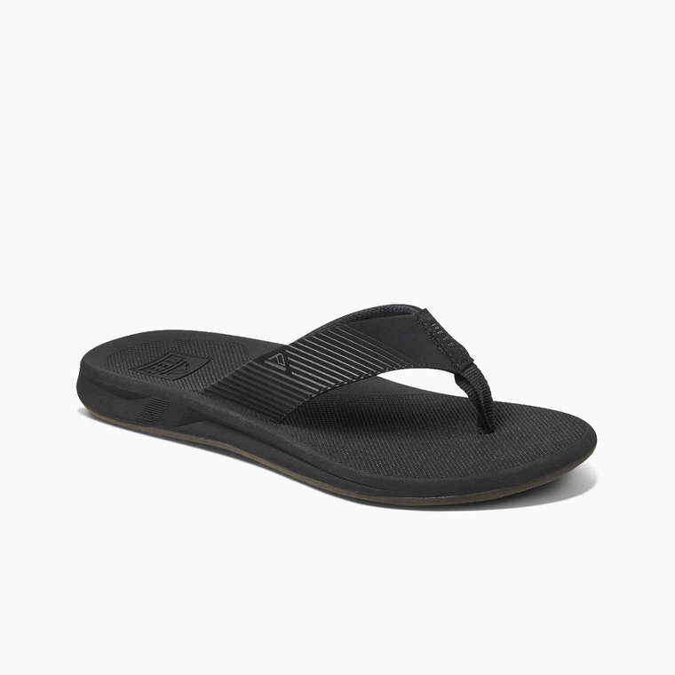Reef Men's Phantom II Flip Flops - Black/Black