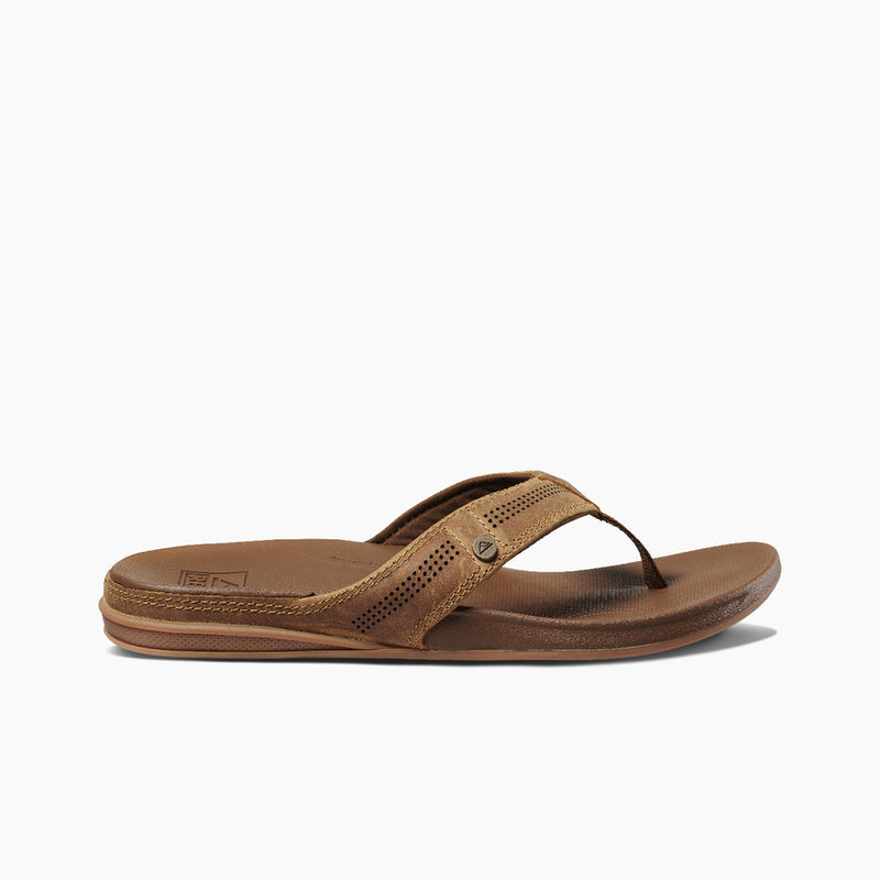 Reef Men's Cushion Lux Sandal - Toffee