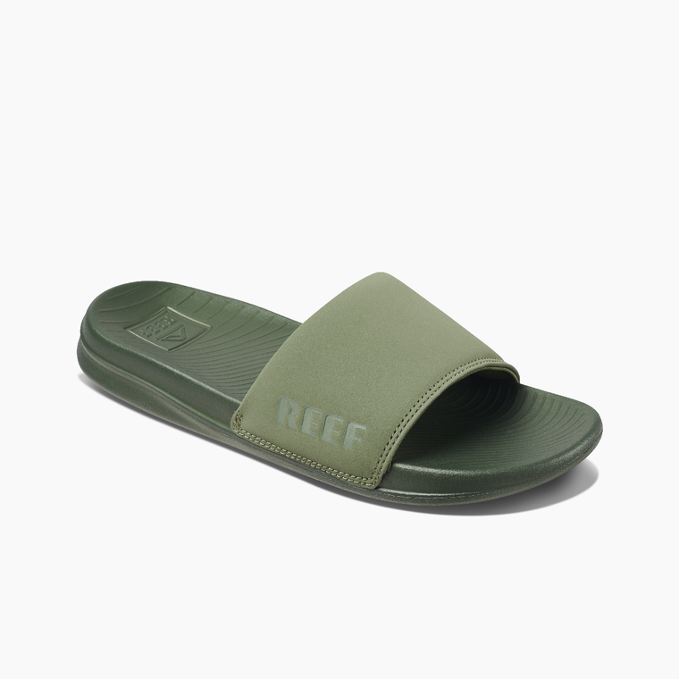 Reef Women's One Slide Sandals - Olive