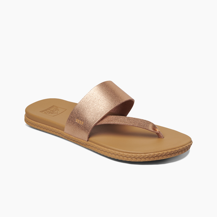 Reef Women's Cushion Bounce Sol Sandal - Rose Gold