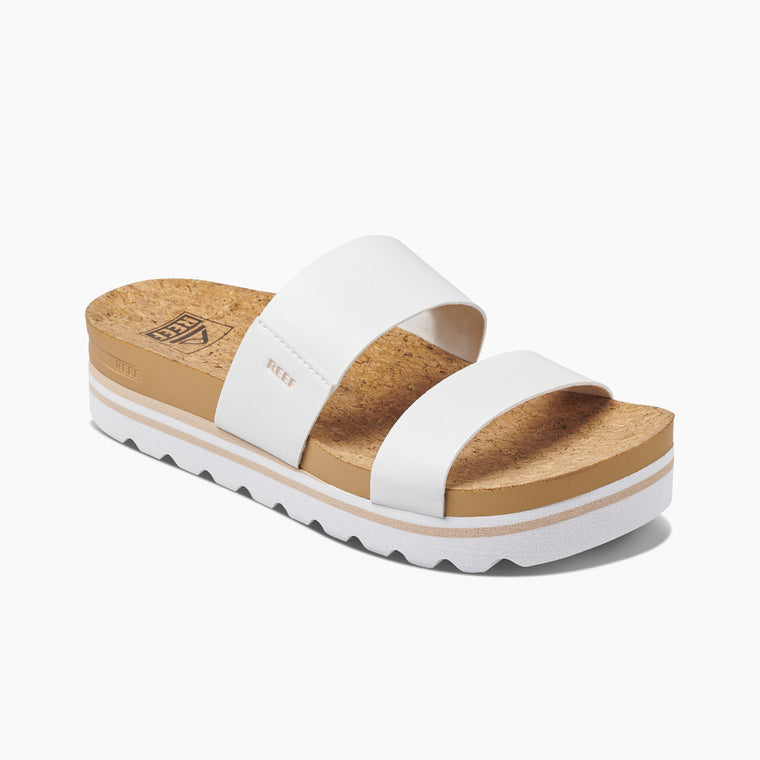 Reef Women's Cushion Vista Hi Sandals - Cloud