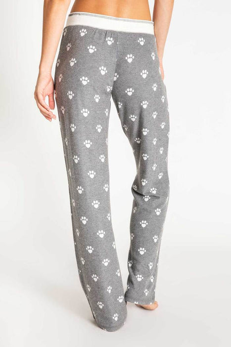 Women's PJ Salvage Animal Lover Pant - Charcoal