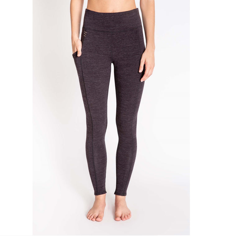 Women's PJ Salvage Lounge Essentials Legging - Smoke