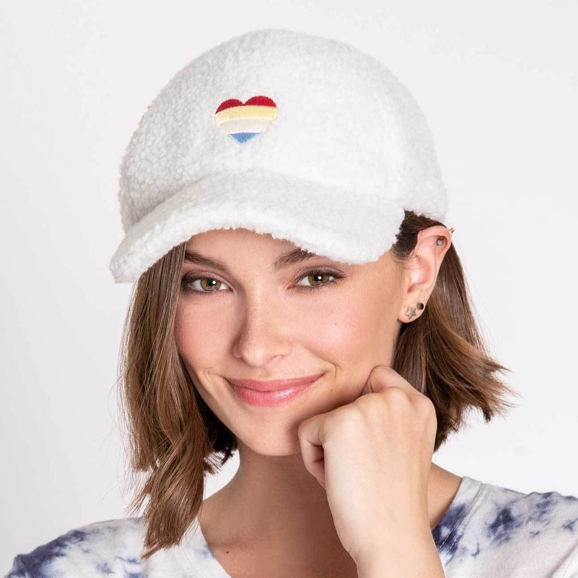 PJ Salvage Women's Vintage Hat - Ivory Plush Pride