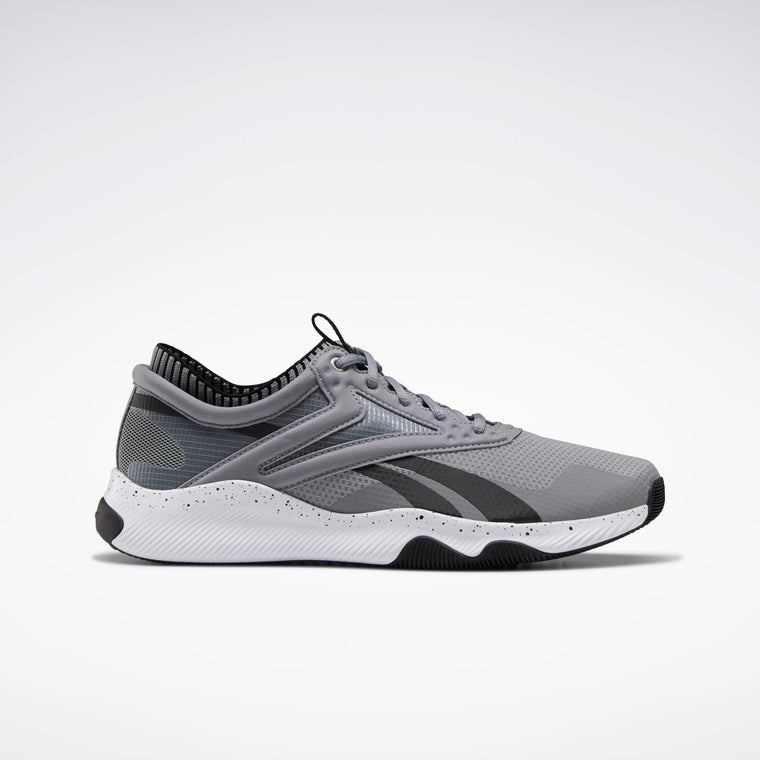 Reebok Men's HIIT Training Shoes - Pure Grey 5/Black/White