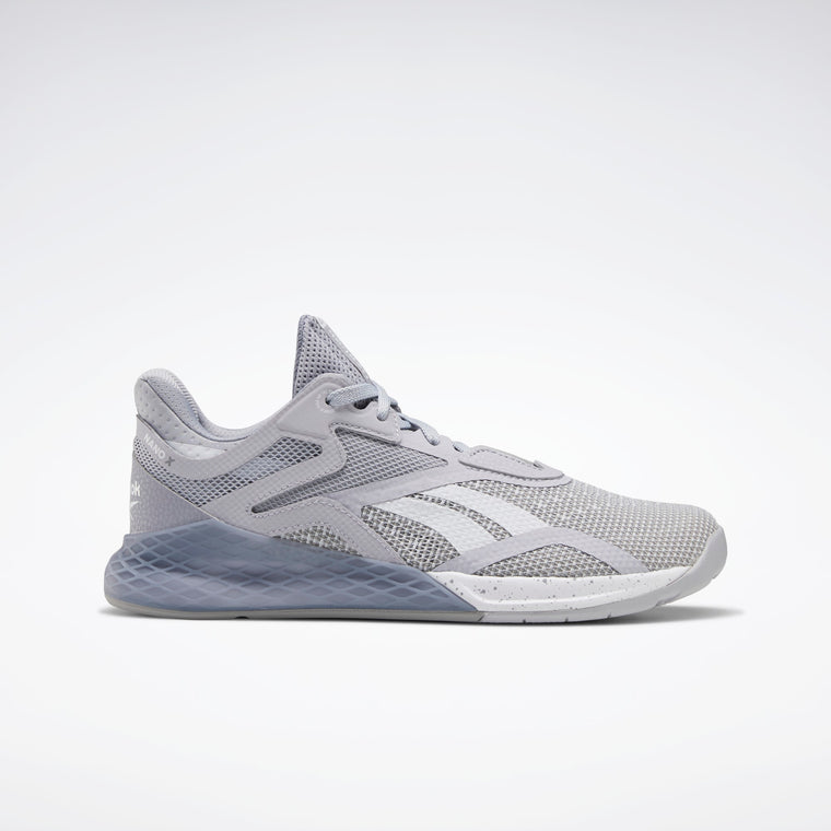 Reebok Women's Nano X Training Shoes - Cold Grey 2/Cool Shadow/White