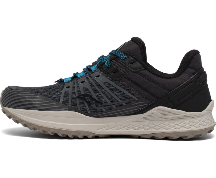 Saucony Men's Mad River TR2 Trail Running Shoes - Charcoal/Black