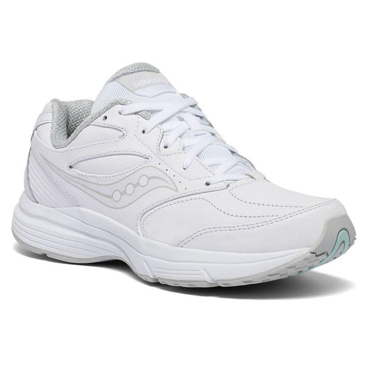 Saucony Women's Integrity Walker 3 Extra Wide Walking Shoe - White