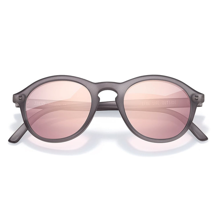 Sunski Singlefin Sunglasses - Grey Rose
